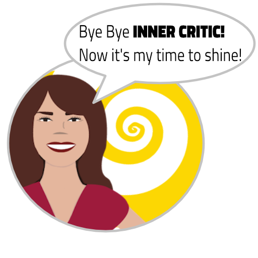 """Bye bye Inner Critic! Now it's my time to shine!""Divine LIght Vibrations with Glenn Younger, author, spiritual books, Inner Critic"