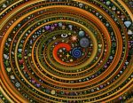 Spiral. Enlightertainment with Glenn Younger author of spiritual books for a spiritual transformation with Unconditional Love. Divine Light Vibrations.