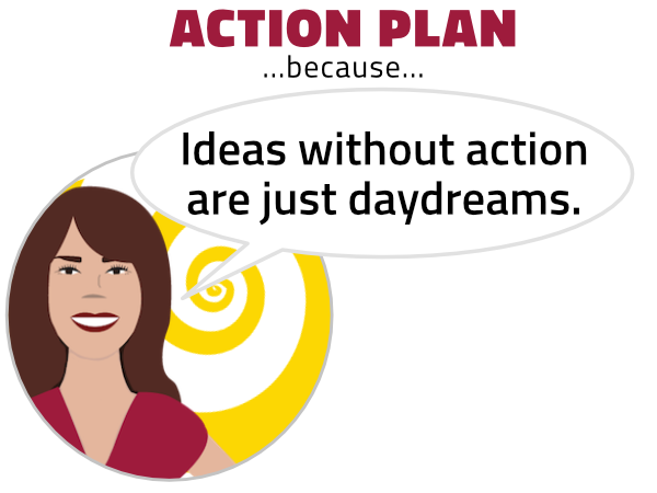 Ideas without action are just daydreams. Enlightertainment with Glenn Younger, author and spiritual coach on DivineLightVibrations, Inner Critic