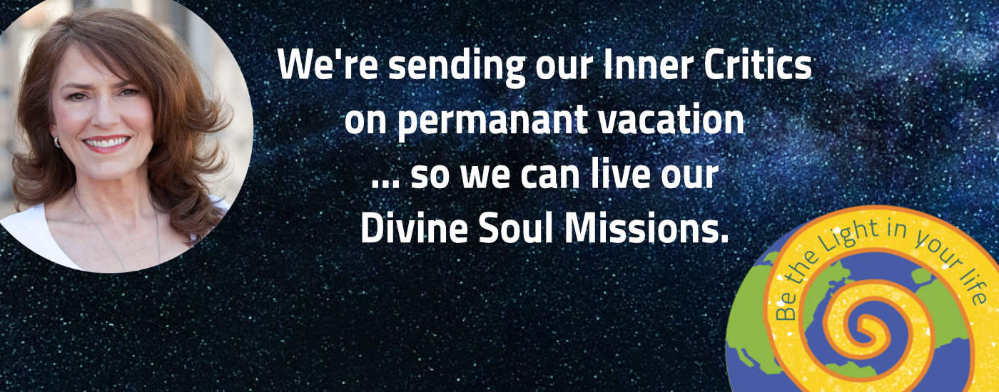 Enlightertainment with Glenn Younger, Inner Critic on permanent vacation, live your Divine Soul Mission with the power of Divine Light Vibrations, spiritual transformation, spiritual alchemist, Self-Explorer