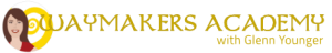 Enlightertainment with Glenn Younger and Waymakers Academy logo